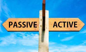تصویر یک تابلوی دو راهی-درامد فعال و غیر فعال