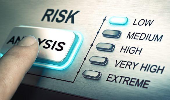 تصویری از نوشته ی ریسک و درجه هایش از زیاد به کم