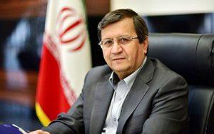 تصویر همتی رئیس بانک مرکزی ایران