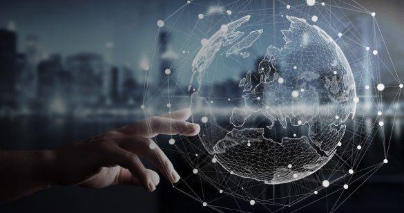 تصویر یک کره مجازی و سهام چیست؟