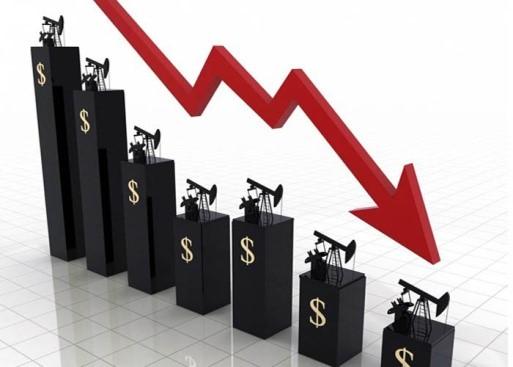 سقوط قیمت نفت در بازار